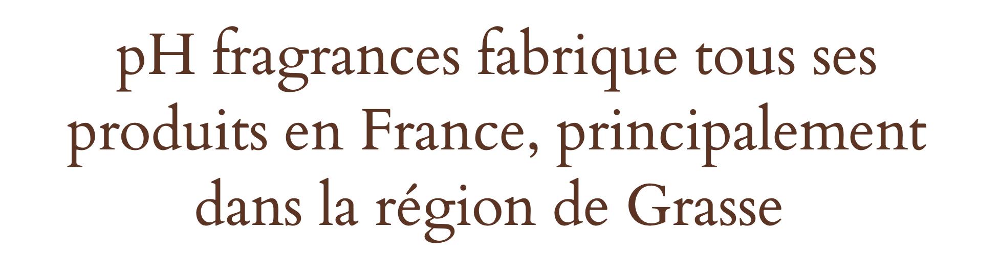 Parfums fabriqué en France