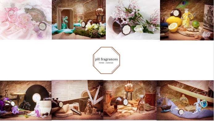 Coffret 8 Parfums Naturels d'exception , Clean, Biodégradables